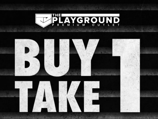SALE ALERT: PLAYGROUND'S BUY ONE TAKE ONE SALE