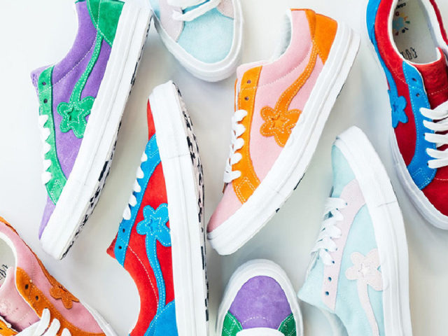 The latest Converse One Star Golf le Fleur* Collection drops this Friday