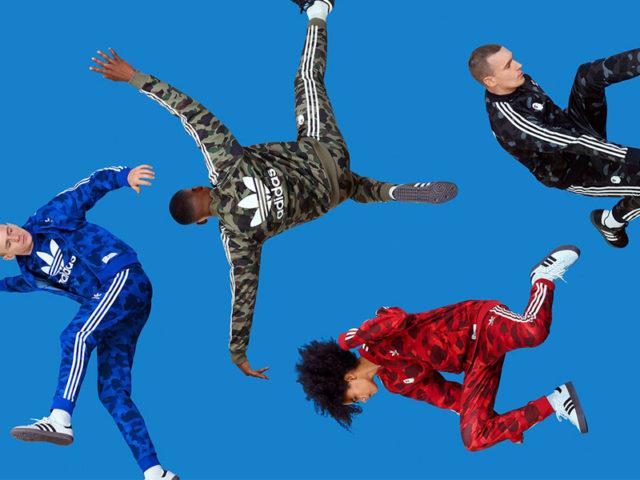 TODAY: adidas Originals x BAPE Apparel Collection