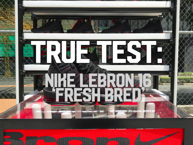 TRUE TEST: NIKE LEBRON 16 'FRESH BRED'