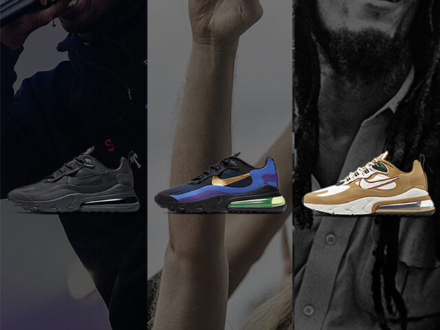 Nike Sportswear releases new colorways for the Air Max 270 React