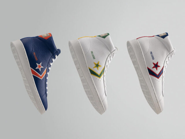 Out Now: Converse Pro Leather 'Breaking Down Barriers'