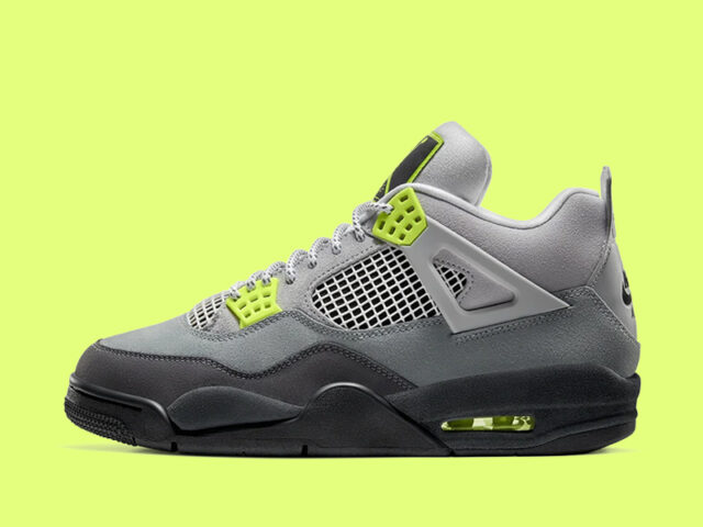 Air Jordan 4 '95 Neon' drops today