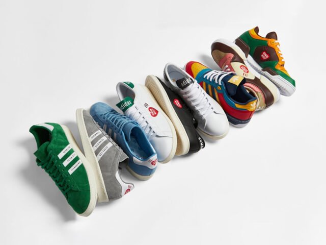 the adidas Originals x HUMAN MADE drops tomorrow