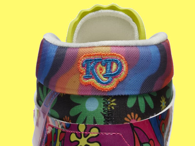 Psychedelic vibes appear on the latest Nike KD 13