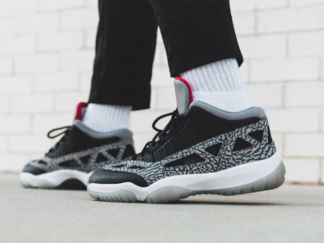 A familiar Jordan colorway makes it on to the Air Jordan XI Low IE