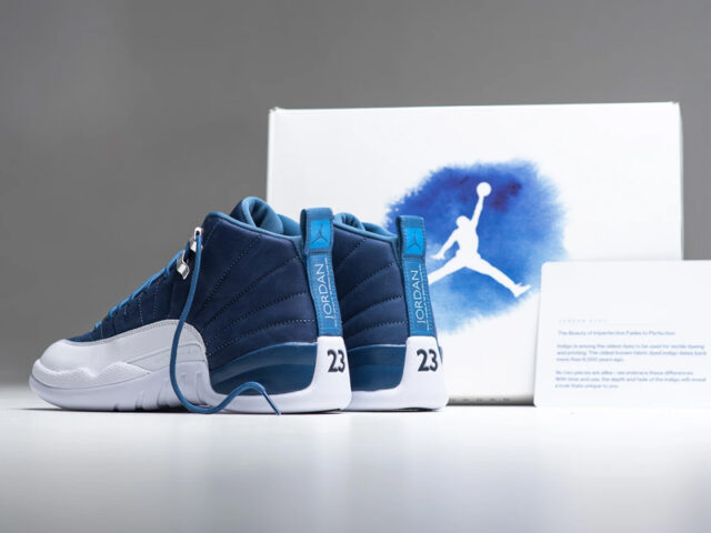 Out Now: Air Jordan XII Retro 'Indigo'
