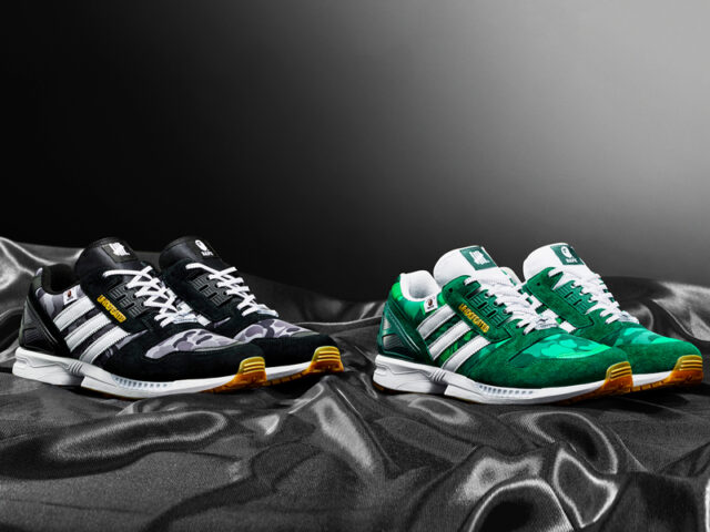 BAPE, Undefeated and adidas Originals come together once again for the ZX 8000