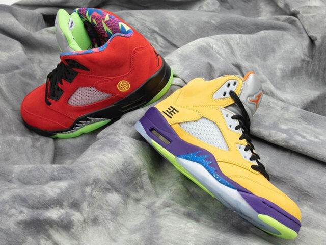 What The?!? Jordan Brand releases a mash-up of the V's rarest colorways