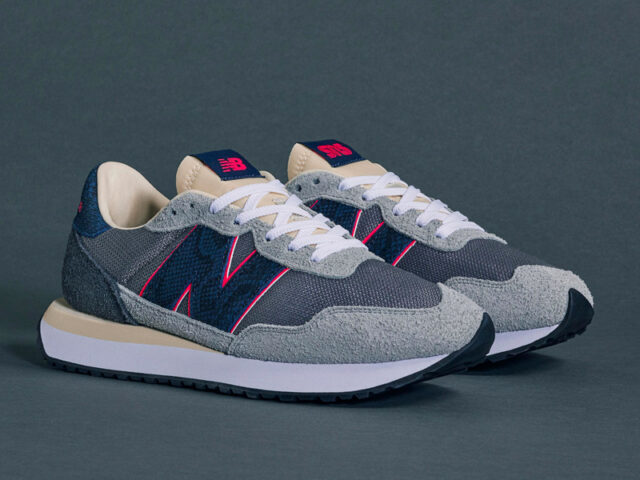 NEED: New Balance is releasing the SNS 'Blue Racer' 237 tomorrow!