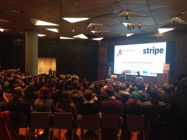 Stripe launches in Aus! Fireside with Paul Bassat & John Collison