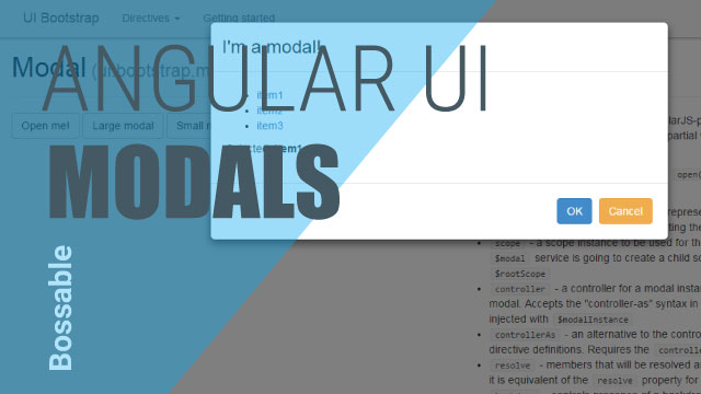 MEAN Stack – Using an AngularJS UI Modal to Update Customers – Day 19