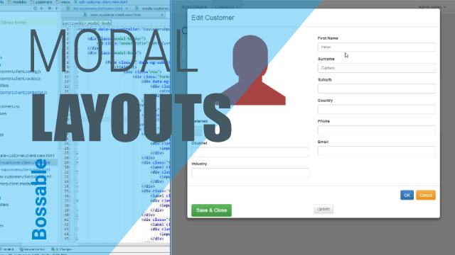 MEAN Stack – Styling our AngularJS UI Customer Update Modal – Day 21