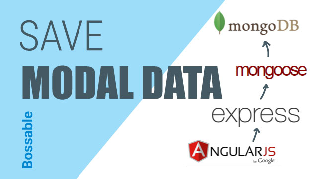 MEAN Stack – Save data with an AngularJS Modal – Day 22