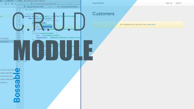 MEAN Stack – Customer CRUD Module with Yeoman – Day 9