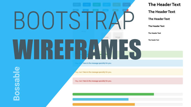 Design your Web Apps with Bootstrap Wireframes