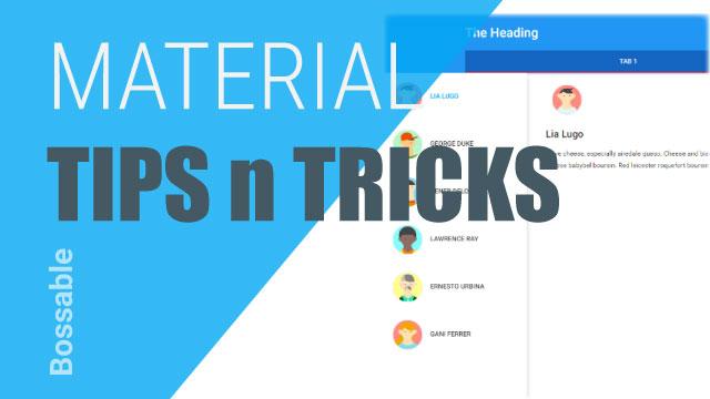 AngularJS Material Design Toolbar Tips and Tricks