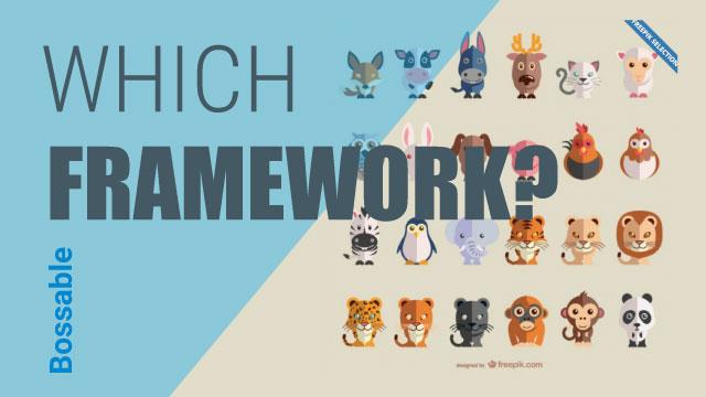 Which JavaScript web framework should I use?