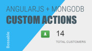 AngularJS Custom Actions for ExpressJS