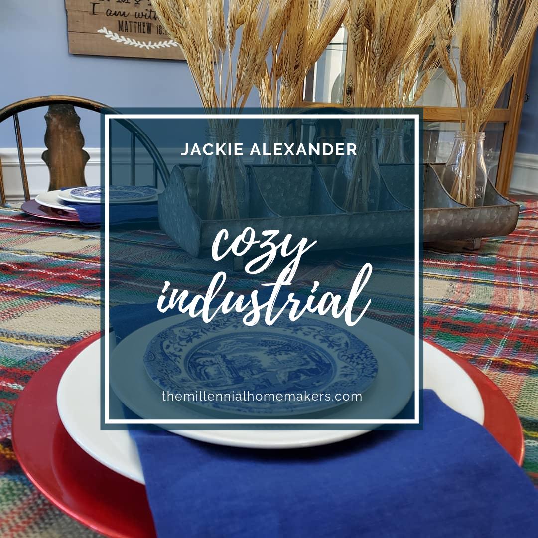 Jackie Alexander Cozy Industrial Dining Room