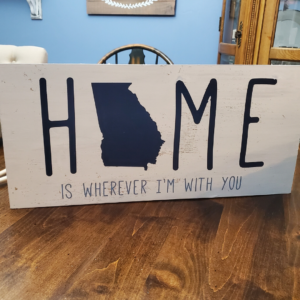 home is wherever I'm with you state of georgia