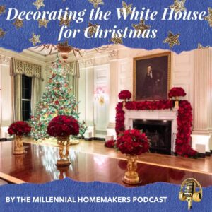 Decorating the white house for christmas