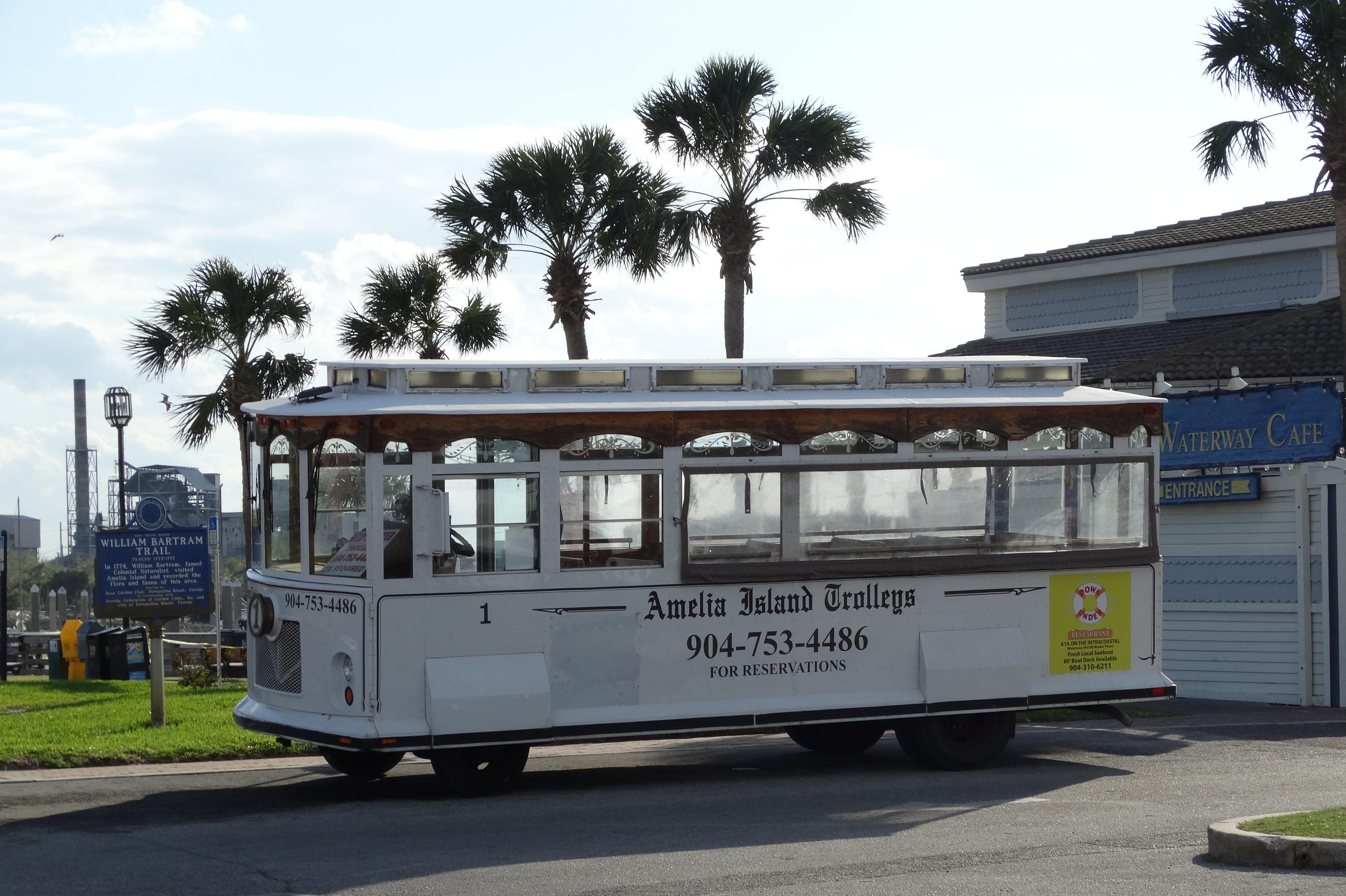 Amelia Island Trolley