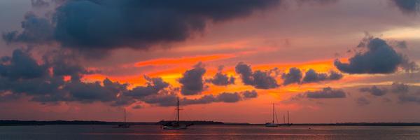 Sunset over Amelia Island Deremer Studios Fine Art Photography
