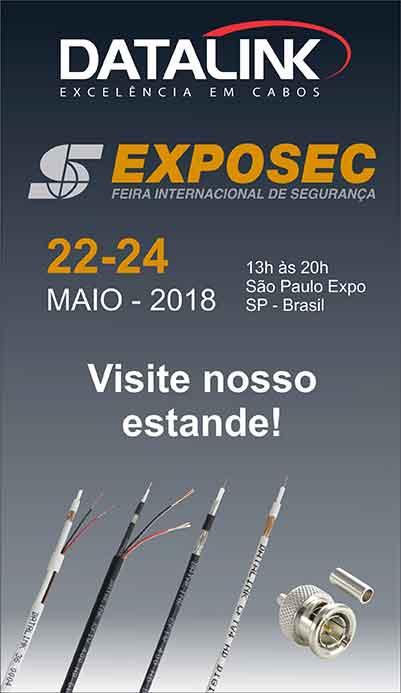 EXPOSEC (Feira Internacional de Segurança) 2018