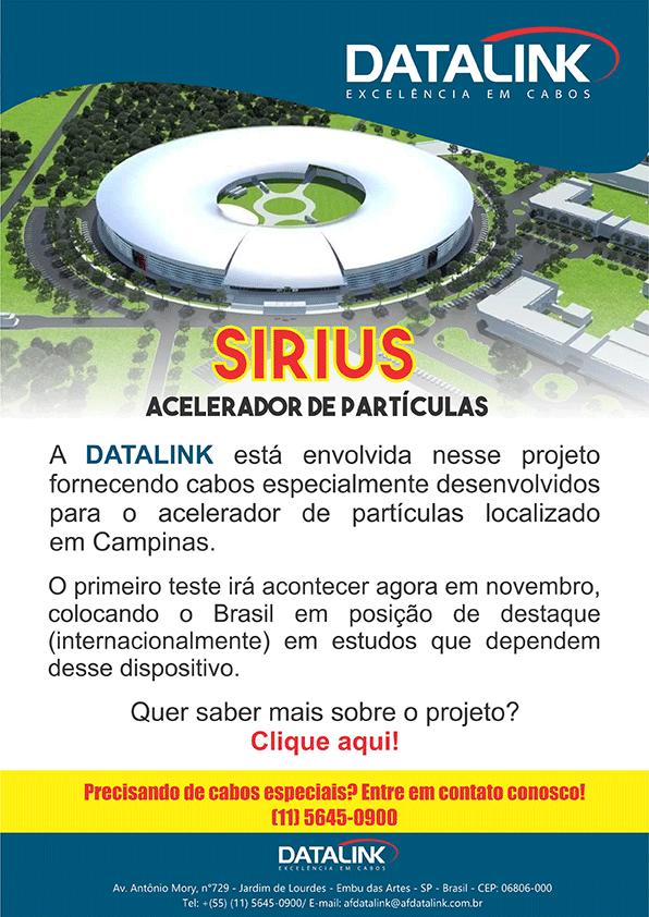 Novo acelerador de partículas Brasileiro