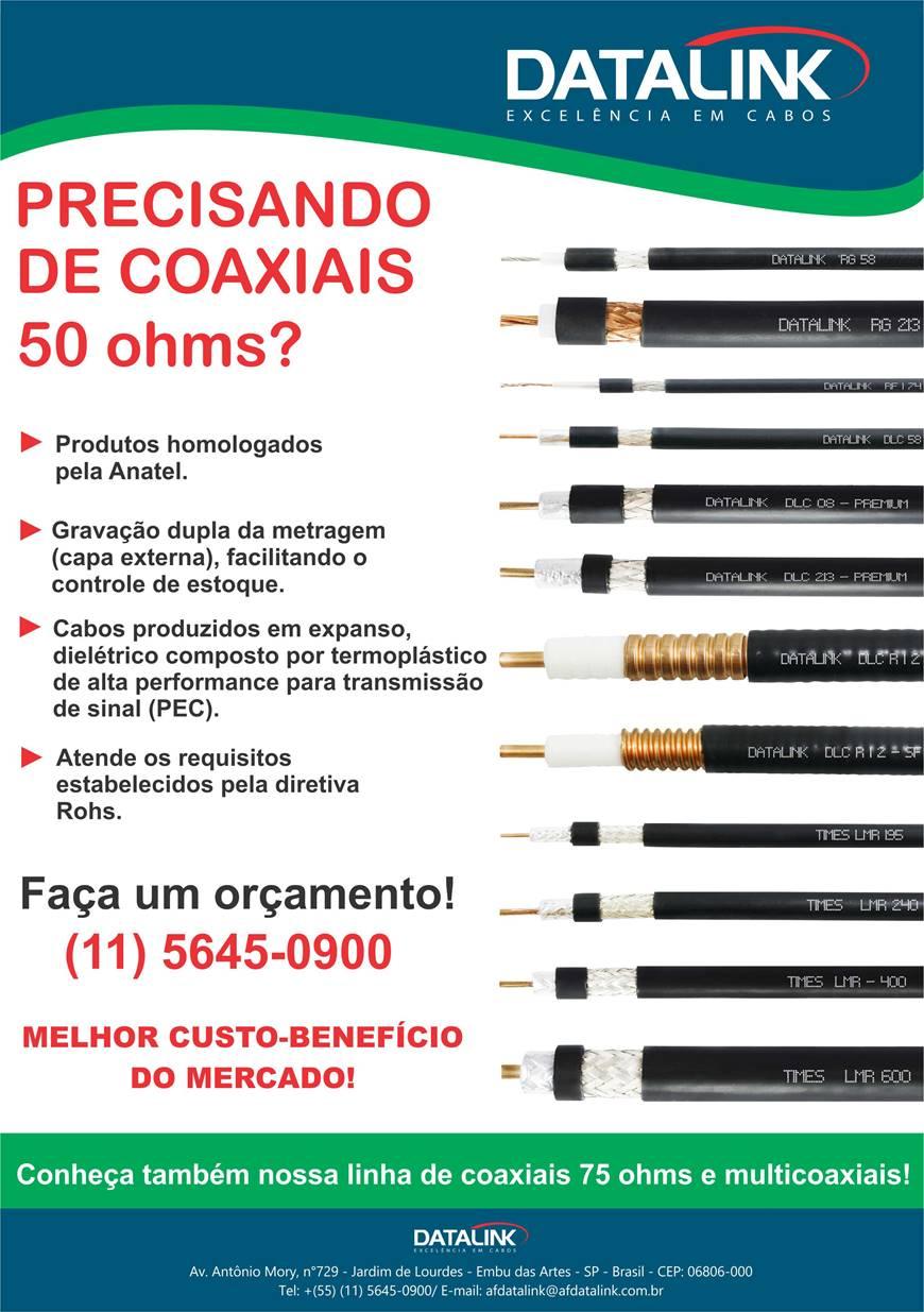 Precisando de Cabo Coaxial 50Ohms?