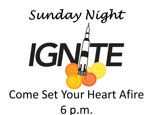 Sunday Night Ignite