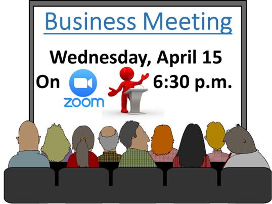 Business Meeting – Apr 15