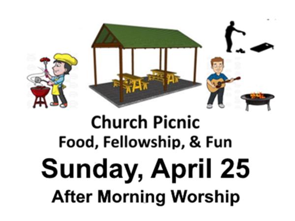 Church Picnic – April 2021