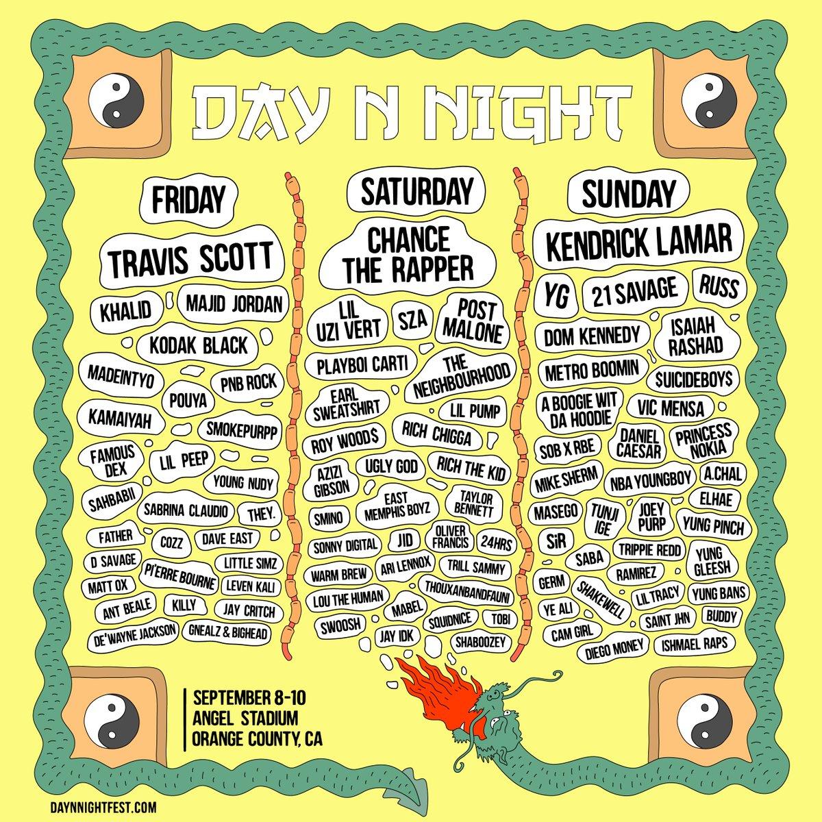 daynnight fest lineup revolt tv svperdvperfly