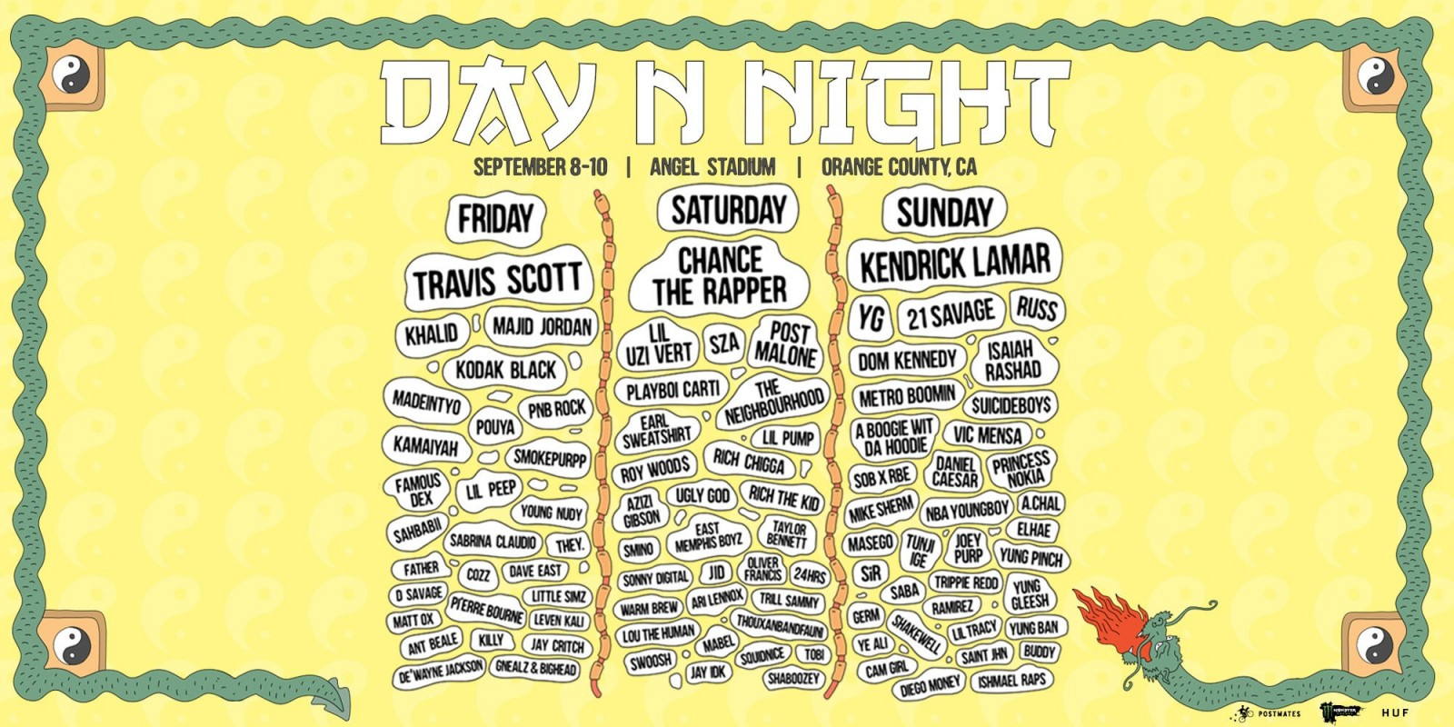 daynnight lineup 2017