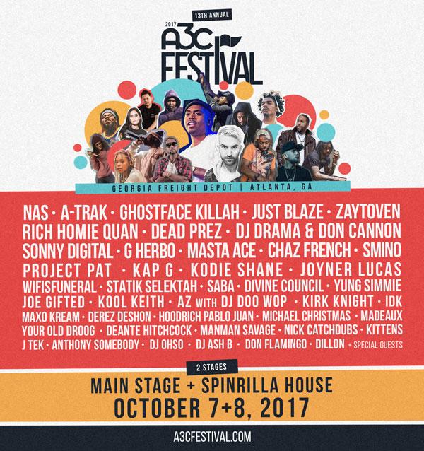 2017 a3c festival