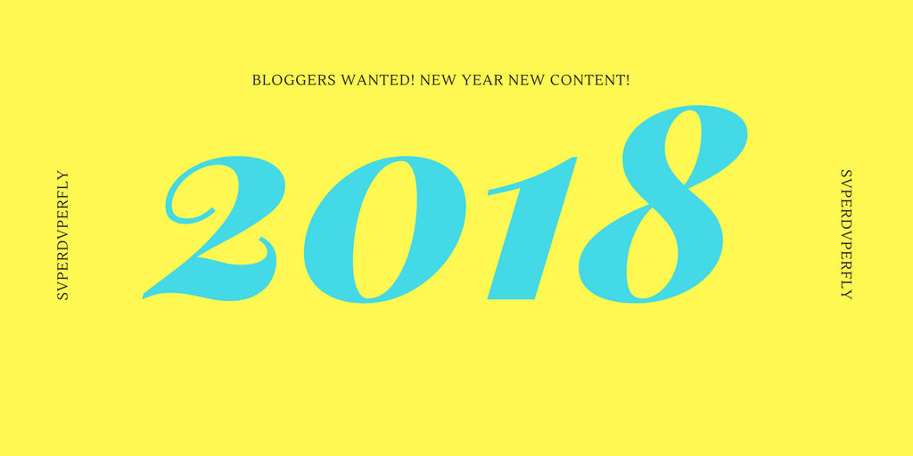 bloggers wanted 2018