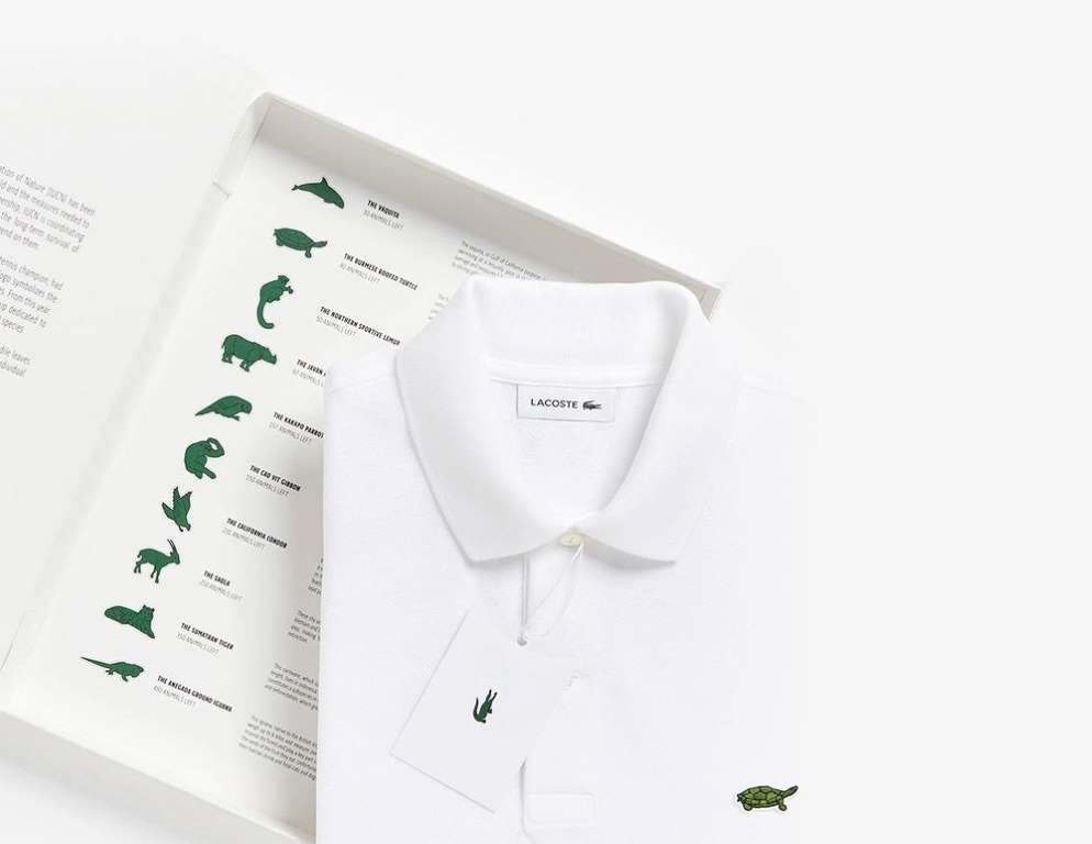 Lacoste 10 save our species svperdvperfly