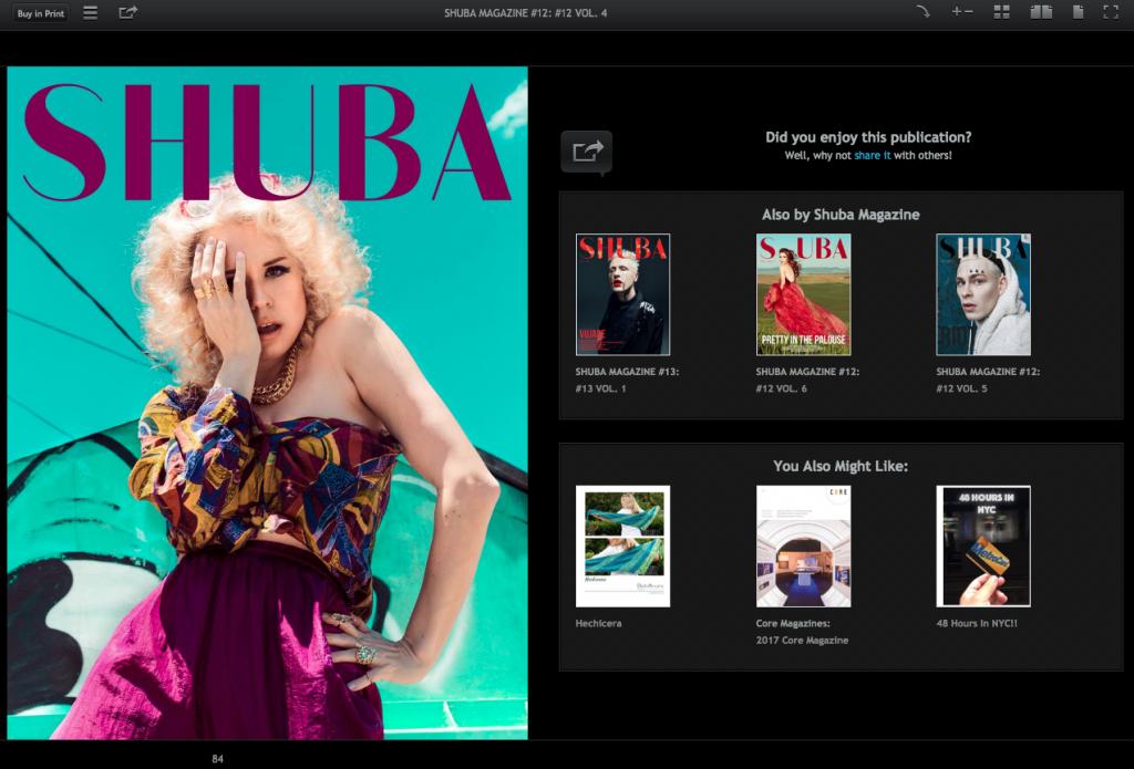 svperdvperfly shuba magazine
