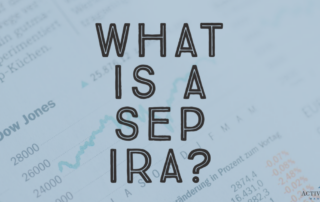 You get one check to last the rest of your life when you retire - a SEP IRA can make sure you won't outlive that check!