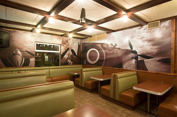 World War 2 aircraft wall murals