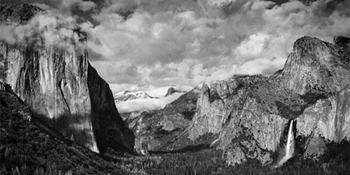 Black and White Film in Yosemite Valley