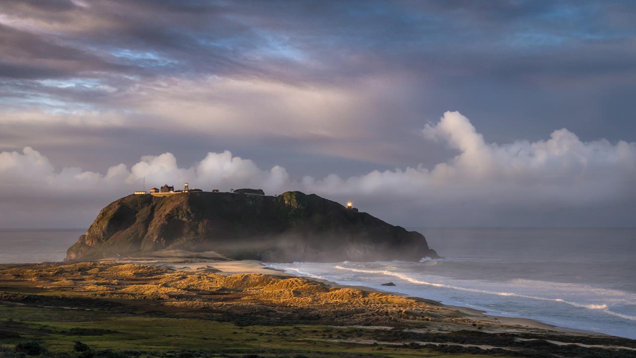Big Sur Golden Sunrise During our Photography Workshop