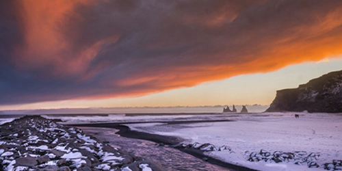 Sunset during our Iceland Photo Expedition