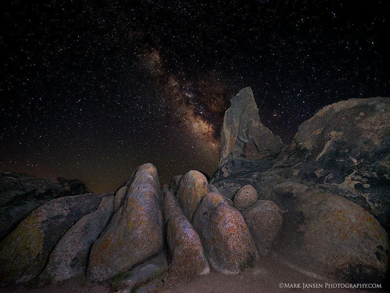 Alabama Hills Eastern Sierra Night sky Photography Workshop