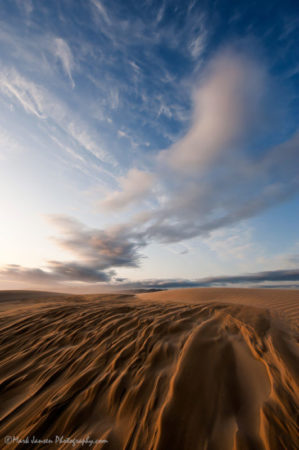 by Mark Jansen shows a great example of dynamic landscape photography