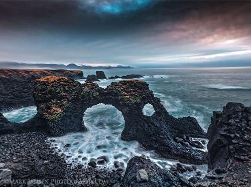 Iceland morning light photography