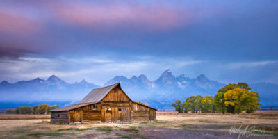 Mormon Row Barns during our Photography workshop in Grand Teton National Park