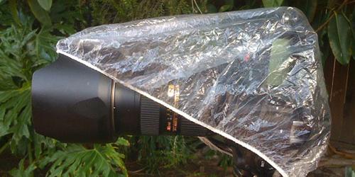 Waterproofing your camera